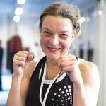 Katri Kokkonen taisteli sisukkaasti debyyttiottelussaan, mutta sai tyytyä hopeamitaliin