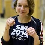 Katri Kokkonen voitti ensimmäisen erän, mutta jäi hyvästä yrityksestä huolimatta lopulta hopealle kahden osumapisteen erolla