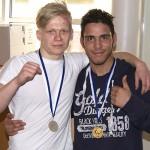 Abdul Hussein (oik) ja Max Blomfelt iskivät mitalikantaan vapaaottelun SM-kisoissa