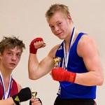 Riku Rajalin kukisti Ruotsin Linus Helgen Pyynikki-turnauksen loppuottelussa