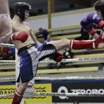 Tino Saarikangas voitti viikonloppuna potkunyrkkeilyn nuorten SM-kultaa