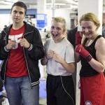 Espoon Kehähaiden nyrkkeilijät saivat hyvää kisatuntumaa lauantain harjoistusotteluissa