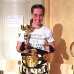 Gia Winberg voitti sunnuntaina jo kolmannen thainyrkkeilyn SM-kultansa