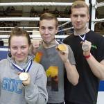 Verna, Tino ja Erkka iskivät potkunyrkkeilyn SM-kisoissa Vaasassa