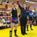 Sari Kärki otteli monipuolisesti ja voitti Laura Säisäsen kovatempoisessa ottelussa