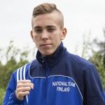 Tino Saarikangas iski sijoille 5.-8. potkunyrkkeilyn nuorten MM-kisoissa Irlannin Dublinissa