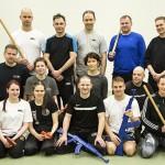 Hannu Korhonen ja Juho-Pekka Syrjälä ohjasivat Krav Magan juhlavuoden kunniaksi 3,5 tunnin maksuttoman itsepuolustusseminaarin