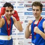 Omar ja Antton voittivat kaksi ottelua mieheen viikonlopun TUL-turnauksessa
