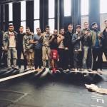 Kehähaiden vapaaottelijat osallistuivat Turun kisoihin isolla joukkueella