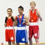 Kehähaiden nyrkkeilijät iskivät mallikkasti Turussa viikonlopun nuorten TUL-turnauksessa