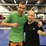 Emrehan Öz ja valmentaja Jere Flinkman saivat Tampereen kisoista aineksia tuleviin harjoituksiin