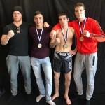 Espoon Kehähaiden vapaaottelijat saalistivat SM-kisoista kaksi kultaa ja yhden hopean