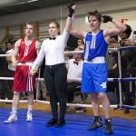 Theo Kolehmainen (oik) iski hienosti voittoon debyyttiottelussaan