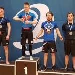 Joonas Ahola (oik) voitti suvereenisti kaksi ottelua SM-kisoissa