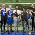 Espoon Kehähaiden nyrkkeilijät iskivät lauantaina nasevasti Tampereella