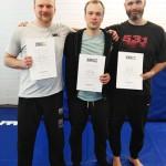 Jari, Jyrki ja Mikko ylsivät huhtikuussa uusille Graduate-tasoille