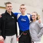 Markku, Tino ja Sara päivittivät lauantaina vyöarvojaan