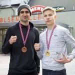 Amin iski pronssia ja Tatu voitti kultaa