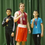 Kehähaiden nyrkkeilijät kilpailivat sunnuntaina Rusalla kolmen pugilistin joukkueella