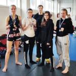 Cassandra, Tiia-Mari ja Saara saivat Helsinki Openista hyvää kisarutiinia tulevia SM-kilpaiuja varten